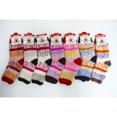Носки женские Корея К3135 Зима (травка)
